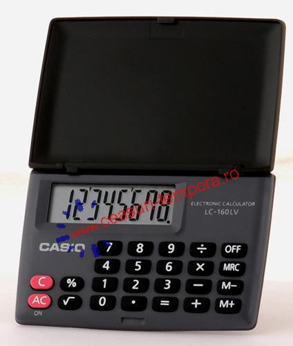 Calculator Casio LC-160LV-BK